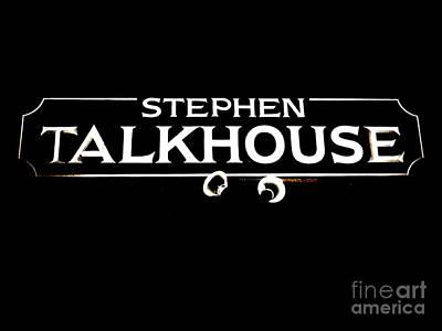 Stephen Talkhouse Poster