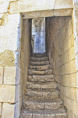 Poster featuring the photograph Steps To Matera by Oscar Alvarez Jr