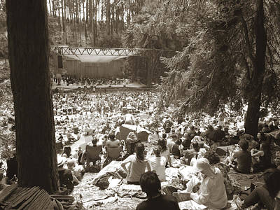 Poster featuring the photograph Stern Grove Concert by Hiroko Sakai