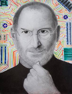 Steve Jobs Poster by Maxwell Hanson