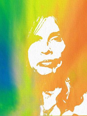 Steven Tyler Canvas Poster by Dan Sproul