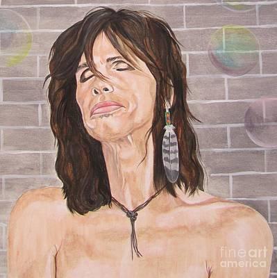 Steven Tyler Dreams On Poster by Jeepee Aero