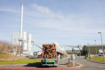Steven's Croft Biofuel Power Station Poster by Ashley Cooper