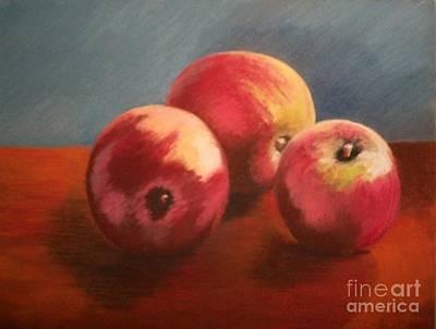 Still Life Apples Poster