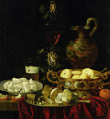 Still Life Poster by Johann Georg Hinz