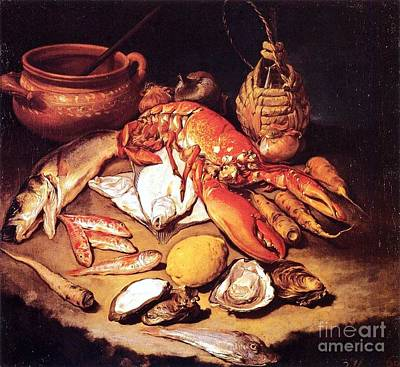 Still Life - Marine Life Poster by Pg Reproductions