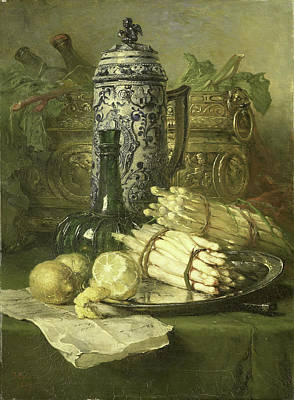 Still Life With Jug Of Stoneware, Maria Vos Poster