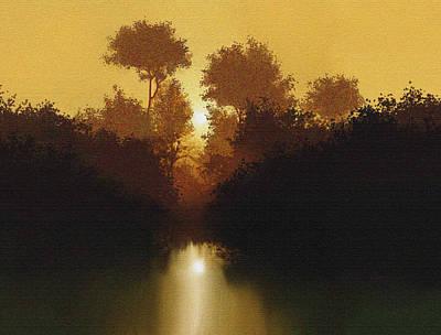 Still Pond Poster by Robert Foster