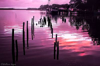 Still Water Dusk 2 Poster by Wallaroo Images