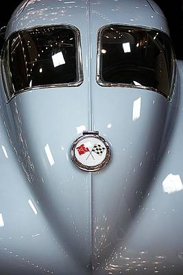 Vehicles Poster featuring the photograph '63 Sting Ray  by Aaron Berg