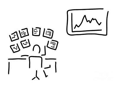 Stock Exchange Stockbroker Fund Manager Poster