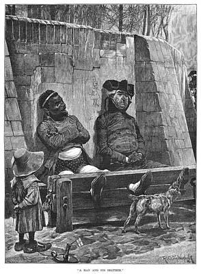 Stocks, 1886 Poster by Granger