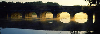 Stone Arch Bridge Over A River, Loire Poster by Panoramic Images