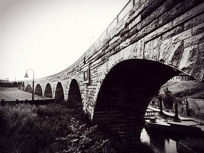 Stone Arch Bridge Poster by Zinvolle Art