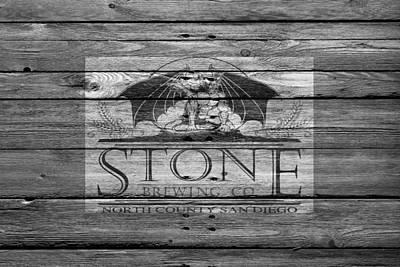 Stone Brewing Poster by Joe Hamilton