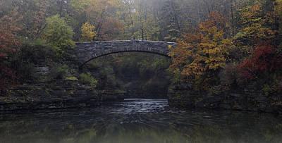 Stone Bridge In Autumn II Poster