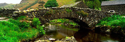 Stone Bridge Over A Canal, Watendlath Poster by Panoramic Images