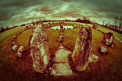 Stone Circle Poster by David Isaacson