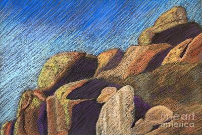 Stone Formations Poster by Pattie Calfy