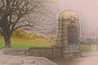 Stone Gate Poster by Tom Gari Gallery-Three-Photography