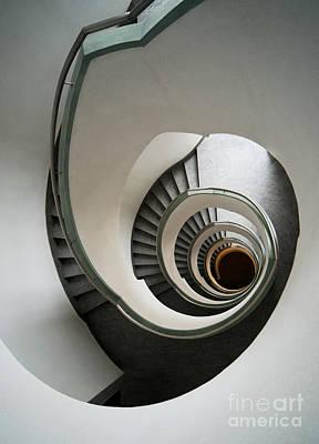 Stone Staircase Poster by Jaroslaw Blaminsky