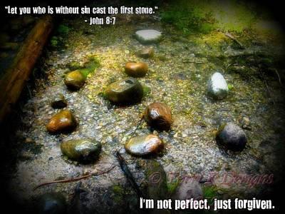 Stone Poster by Terri K Designs
