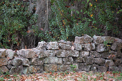 Stone Wall - Photograph Poster