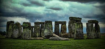 Stonehenge 1 Poster by Joanna Madloch