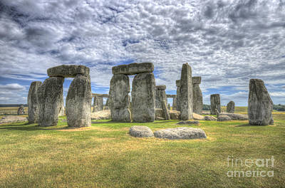 Stonehenge Poster by Darren Wilkes