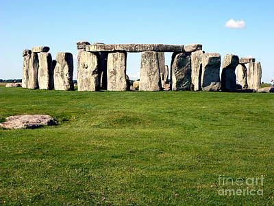 Stonehenge Poster by John Potts