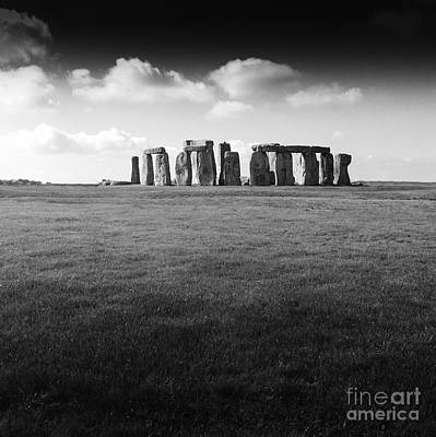 Stonehenge Poster by Michael Canning