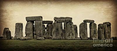 Stonehenge Poster by Stephen Stookey