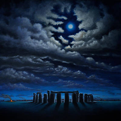Stonehenge - The People's Circle Poster