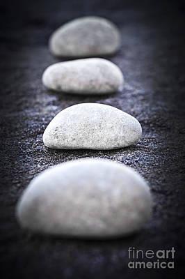Stones Poster by Elena Elisseeva