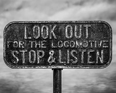 Stop And Listen Poster