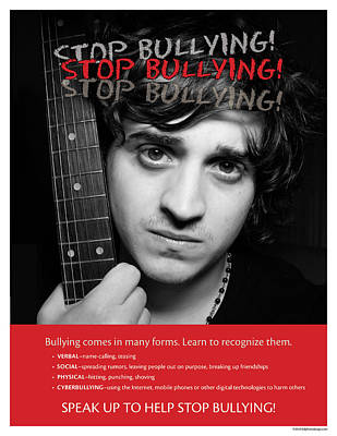 Poster featuring the photograph Stop Bullying by Betty Denise