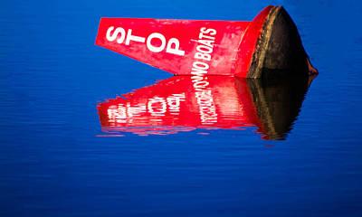 Stop No Boats Poster by Naomi Burgess