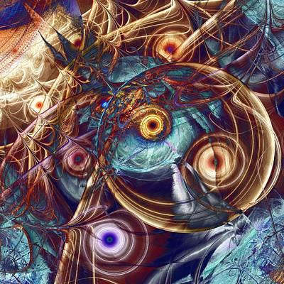 Storm Poster by Anastasiya Malakhova