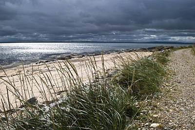 Storm Arising Dornoch Beach Scotland Poster