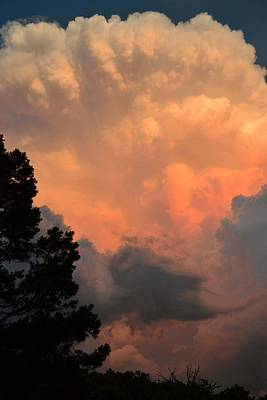 Storm At Sundown Poster