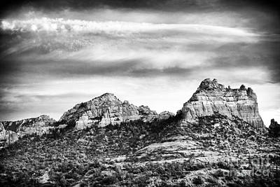 Storm Brewing In Sedona Poster