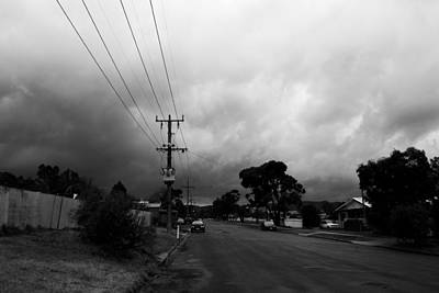 Poster featuring the photograph Storm Closing In  by Naomi Burgess