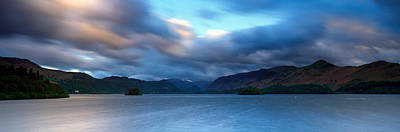 Storm Clouds Over A Lake, Derwent Poster