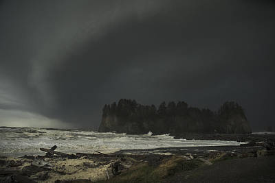 Poster featuring the photograph Storm Is Coming North West Wa by Yulia Kazansky
