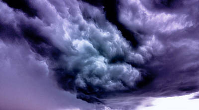 Storm Poster by Vlad Baciu