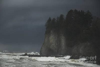 Storm At Lapush Washington State Poster