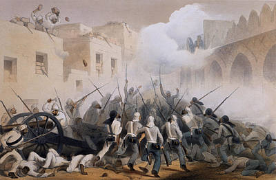 Storming Of Delhi 1857, From The Poster