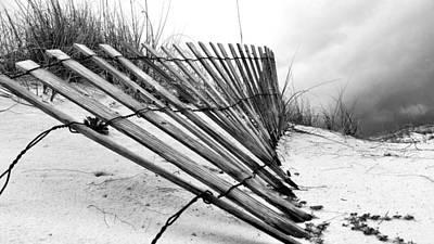 Storms Over Pensacola Beach Poster