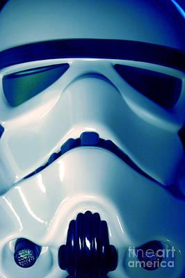 Stormtrooper Helmet 108 Poster
