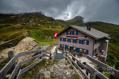 Stormy Mannlichen - Bernese Alps - Switzerland Poster by Gary Whitton